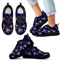 Star Twinkle Night East Carolina Pirates Sneakers – Best Funny Store