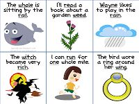 Articulation: Minimal Pairs in Sentences - Gliding   - Pinned by @PediaStaff – Please Visit  ht.ly/63sNt for all our pediatric therapy pins