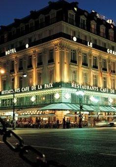 Cafe de la Paix, Paris..
