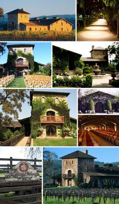 All about the Location  |  V. Sattui Winery  |  Napa Valley Weddings. Beautiful for a wedding. absolutely breath taking.