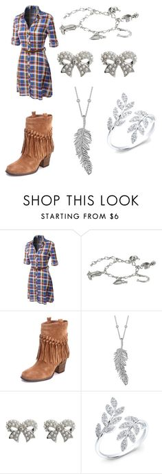 """Just Another Country Girl"" by juliadonda ❤ liked on Polyvore featuring LE3NO, M&F Western, Sbicca, Penny Preville, M&Co and country"