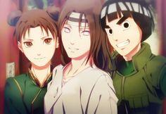 Ten Ten, Neji Hyuga, Rock Lee | Naruto