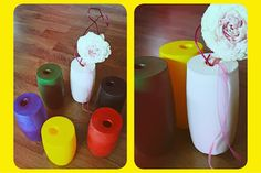 DIY: Luftballon-Vasen Magazine, Happy, Vases, Balloons, Homemade, Magazines, Happiness