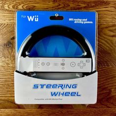 Wii U Steering Wheel New Sealed racing driving games wii motion plus compatible Wii Motion Plus, Wii U, Console, Seal, Racing, Games, Running, Auto Racing, Gaming