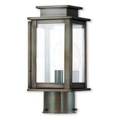 Livex Lighting Princeton 20201 Outdoor Post Lantern - 20201-29