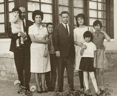 1964 A family in Kabul, Afghanistan