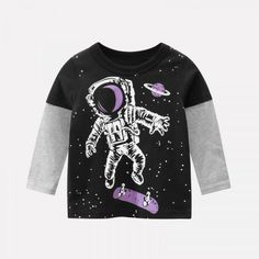 T Rex Moon Boys Girls Toddler Classic 2-6Year Old Short Sleeve Crewneck T-Shirt Tops