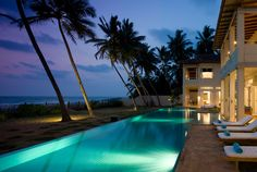 beautiful, exclusive Sri Villas http://www.srivillas.com/ in SW Sri Lanka.