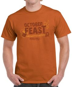 Raise your beer and bratwurst to celebrate at our Annual OctoberFEAST in Peddler's Village on October 15 & 16! Arrive decked out in the 2016 Signature OctoberFEAST T-shirt! Pre-order now and have shipped or pick up at the festival. Click link below to buy your shirt today!  https://village-general-store.myshopify.com/products/octoberfeast-t-shirt