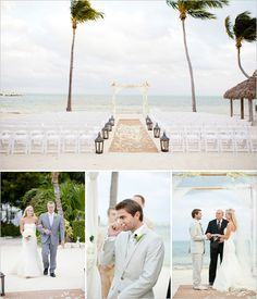 Dream wedding location at Cheeca Resort in Islamorada!  Wow!