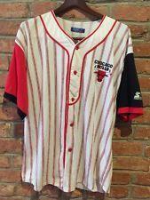 Vintage Starter Chicago Bulls Baseball Jersey