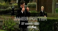 The Marauders birthdays - James Potter gif - James´s birthday is coming!