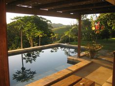 beautiful house , great view, stunning sunsets. so so v. romantic getaway in Corrabell Byron Bay