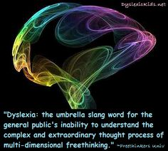 Dyslexia poster - a reminder that people with dyslexia should not ...
