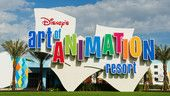 Disney's Art of Animation resort - my favorite value resort. Best food court and pool on property!