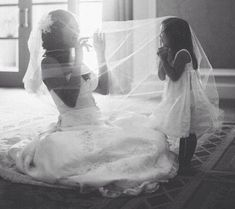 Wedding photo idea with kids