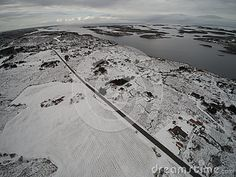 Aerial View Winter In Norway - Download From Over 57 Million High Quality Stock Photos, Images, Vectors. Sign up for FREE today. Image: 87476176