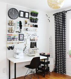 Идеи для обустройства швейного пространства #длядома_вм