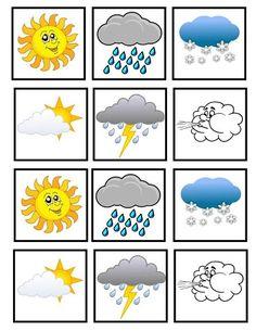 Teaching Weather, Preschool Weather, Weather Activities, Preschool Learning Activities, Alphabet Activities, Toddler Learning, Preschool Activities, Body Preschool, Preschool Math