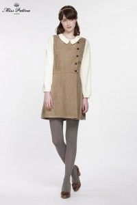Primrose Pinafore (Tweed) (2)