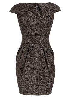 Jacquered dress