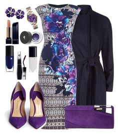 """01 October 2015: Domestic Violence Awareness Month"" by edwardsboysmom ❤ liked on Polyvore featuring Ted Baker, Vince Camuto, Paul Andrew, COSTUME NATIONAL, Lancôme and Michael Kors"