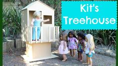 Use these plans to make American Girl Kit's Tree House! They are very easy to follow and every little girl will want to add this to their American Girl Doll ...