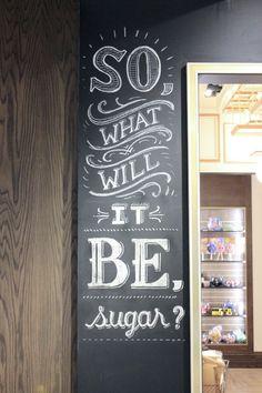 Lolli and Pops Chalk Wall: Glendale, CA by Ryan Lee, via Behance
