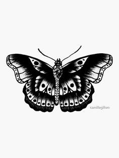 Yellow Butterfly Tattoo, Monarch Butterfly Tattoo, Butterfly Tattoo Meaning, Butterfly Tattoos For Women, Butterfly Tattoo Designs, Vintage Butterfly Tattoo, Butterfly Outline, Harry Styles Tattoos, Harry Styles Mode
