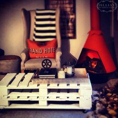 #DIY Palette Coffee Table