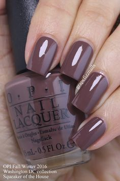 Popular Fall Nail Colors New Grape Fizz Nails Opi Washington Dc Collection for Fall Cute Nails, Pretty Nails, Colorful Nail Designs, Nail Art Designs, Nails Design, Salon Design, Nagel Stamping, Nail Lacquer, Manicure Y Pedicure