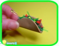 MEXICO and LATIN AMERICA! Mini Taco Scout SWAPS Girl Craft Kit-Swaps4Less