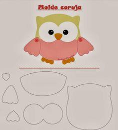 Pinguinho de Arte: Meus trabalhos com Tecidos- molde para patch apliquê