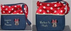 Purse for Disney - made with lots of pockets to store all the stuff one needs at the park.