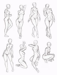 women pose ref Copy's and Studies: Kate-FoX fem body's 4 by WonderingMind23 on DeviantArt