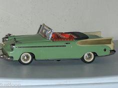 W Germany Schuco Elektro 5700 Synchromatic Packard Tin Car Metal Toys, Tin Toys, Antique Toys, Vintage Toys, 1950s Toys, 4 Wheelers, Fairy Houses, Car Car, Green Colors