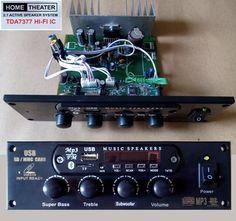 Jual beli Rakitan Active Speaker Home theater TDA7377 + Radio FM MP3 bluetooth di Lapak Mbish Bangun Indonesia - mbish_elektronik. Menjual Komponen Elektronik - Rakitan Active Speaker Home theater TDA7377 + Radio FM MP3 bluetooth  > Support : FM Radio signal 88.00 MHz s/d 108.00 MHz MP3 File [ Flashdisk . MicroSD / TF card ] Built in Bluetooth AUX socket 3,5 mm stereo RCA stereo input [ AUX ] Tone control stereo dengan Subwoofer filter di lengkapi dengan Remote control [ berikut ...