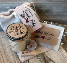 Set of 10 - Bride Tribe - Bridesmaid Proposal Gift//Will you be my Maid of Honor Gift//Bridesmaid Proposal Bag//Bachelorette Gift