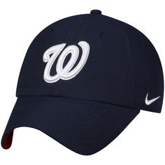 1b2c4a56fc2 Men s Washington Nationals Nike Navy Heritage 86 Stadium Independence Day  Adjustable Hat