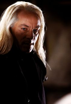 my favorite! Jason Isaacs as Lucius Malfoy