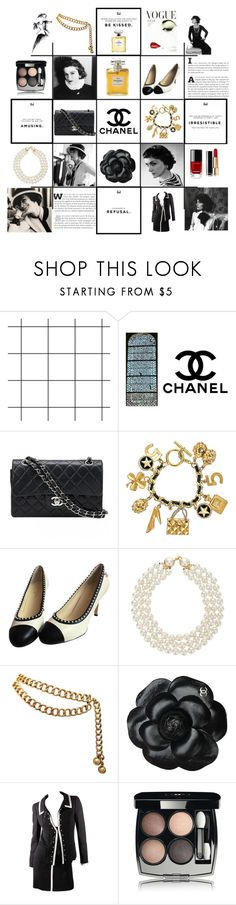 """""""Style Icons"""" by marionmeyer ❤ liked on Polyvore featuring Chanel and styleicons"""