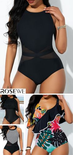 f9e76ea2c86a Hot Sale & Free Shipping. Add sweet style to your swimwear collection with  the Black
