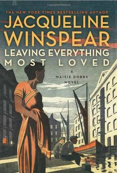 I really enjoy this series. It's set in the time period between the World Wars and features a highly intuitive and empathic woman detective named Maisie Dobbs. The mysteries are always interesting, and also the developments in the character's lives.