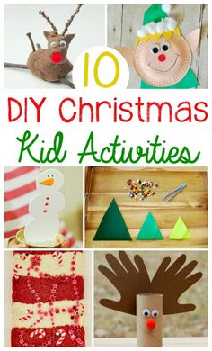 10 DIY Christmas Kid Activities!