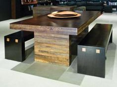 Environment Furniture - Strip Dining Table