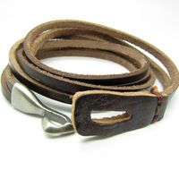 Jewelry Bangle Brown Bracelet Women Leather Bracelet Girl Leather Bracelet Men Leather Bracelet 513A