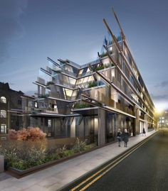 Nobu Hotel Shoreditch in London by Ben Adams Architects