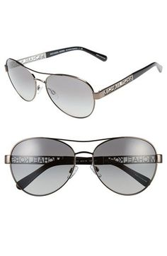Michael Kors Collection 60mm Aviator Sunglasses available at #Nordstrom