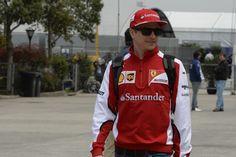 Kimi Raikkonen – Chinese Grand Prix, 04th April 2015