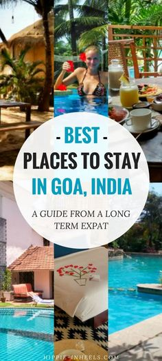 Best Place to Stay in Goa: The Only List You need Planning to travel to Goa, India soon? Here's my guide on where to stay and the best hotels to stay at whether you want beaches, relaxations, parties, and more! Goa Travel, India Travel Guide, Travel Destinations, Paris Travel, Goa India, India Tour, Best Resorts, Best Hotels, Luxury Hotels